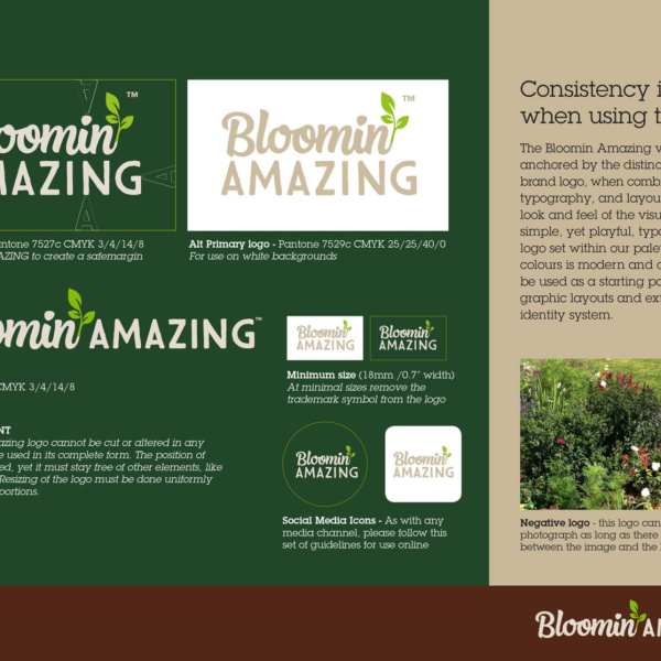 Bloomin Amazing Brand Guidelines
