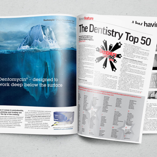 Dentomycin Advert Placement