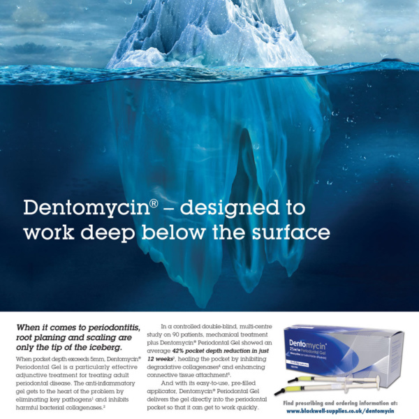 Dentomycin Trade Advert