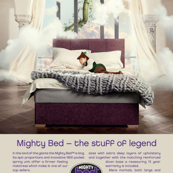 Kaymed Mighty Bed Advert